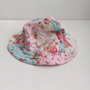 Carter's floral colorful girl hat size 0-3 months